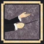 Muz-hand-dirigent