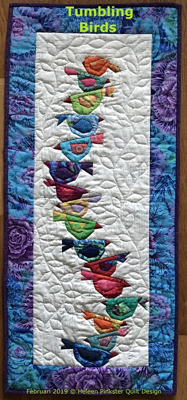 Gratis Paper Piecing Patronen.Heleen Pinkster Quilt Design
